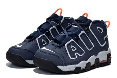 Nike Air More Uptempo синие с белым 40-45