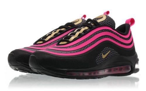 Nike Air Max 97 черно-розовые (35-39)