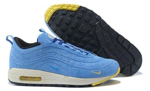 Nike Air Max 97 голубые 35-40