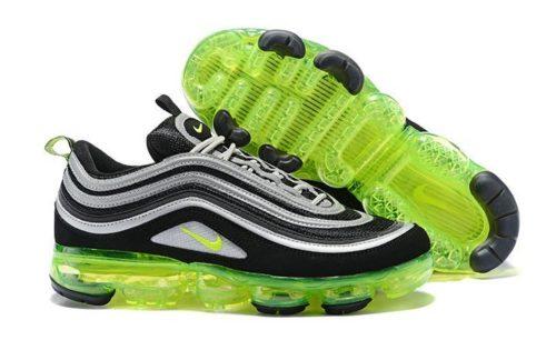 Nike Air Max 97 VaporMax Черно-зеленые 40-44