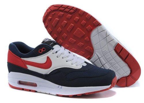 Nike Air Max 87 сине-бело-красные 40-44