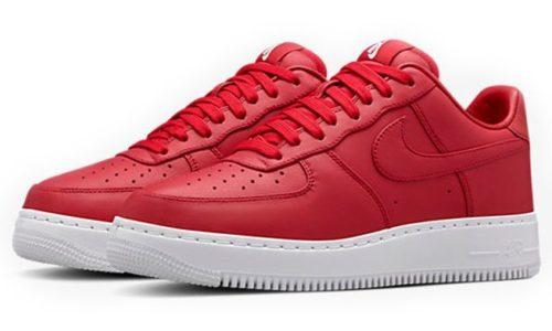 Nike Air Force 1 Lab Low красные (35-44)