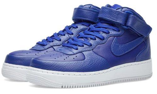 Nike Air Force 1 Lab mid синие (35-40)