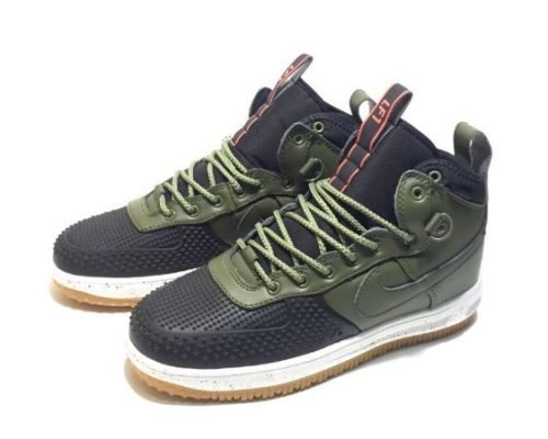 Nike Air Force 1 Lunar Duckboot оливковые (40-44)