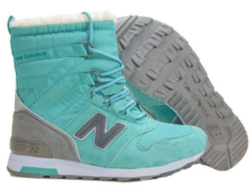 Сапоги New Balance Snow Boots бирюзовые 36-40