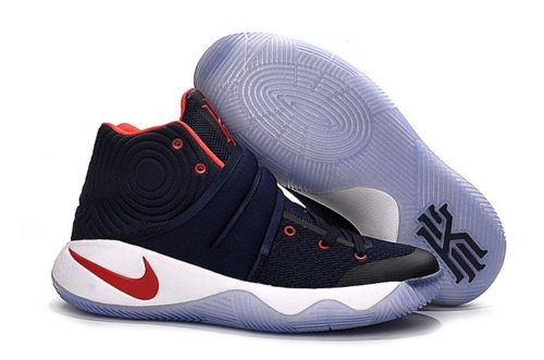 Nike Kyrie 2 blue/White/Red синие (40-45)