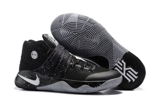 Nike Kyrie 2 Black Grey черно-серые (40-45)