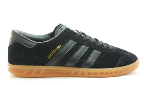 Кроссовки Adidas Hamburg black черные (40-45)