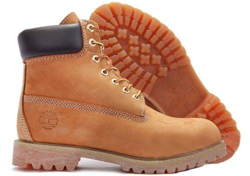 Ботинки Timberland Classic нубук коричневые 36-46