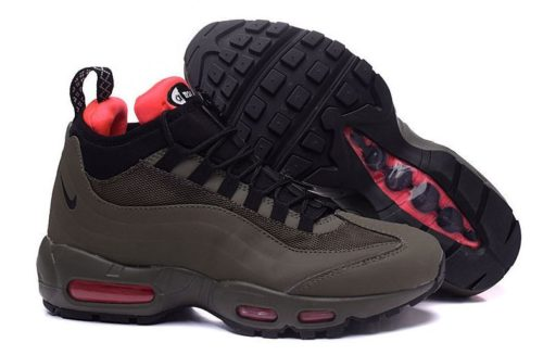 Зимние Nike Air Max 95 Sneakerboot хаки (40-45)
