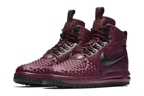 Nike Air Force 1 Lunar Duckboot бордовые (40-45)