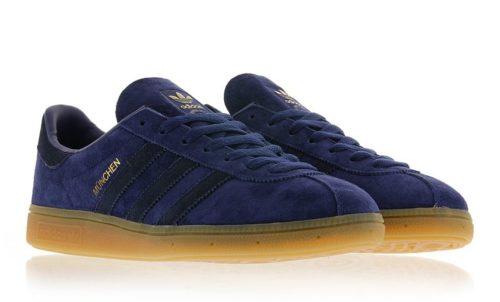 Adidas Munchen Dark Blue синие (40-44)