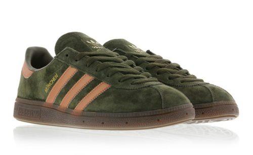 Adidas Munchen green зеленые (40-44)