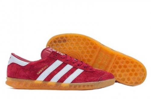 adidas-hamburg-dark-redwhite