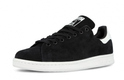 adidas-stan-smith-suede-blackwhite