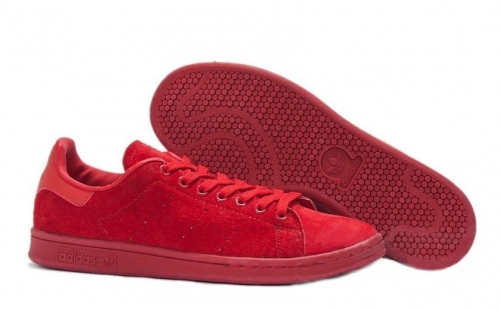 adidas-stan-smith-suede-red