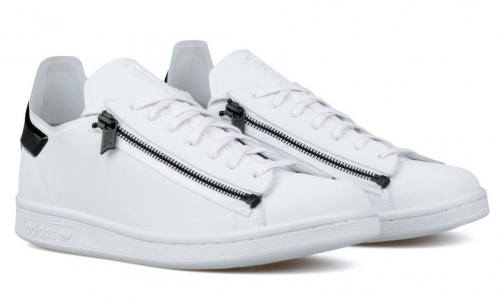 adidas-y-3-stan-smith-zip-whitecoral-black