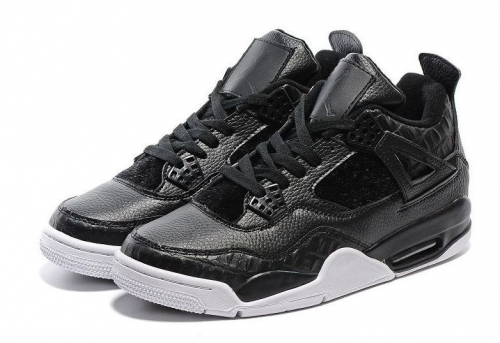 air-jordans-4-retro-premium-pony-hair-blackwhite