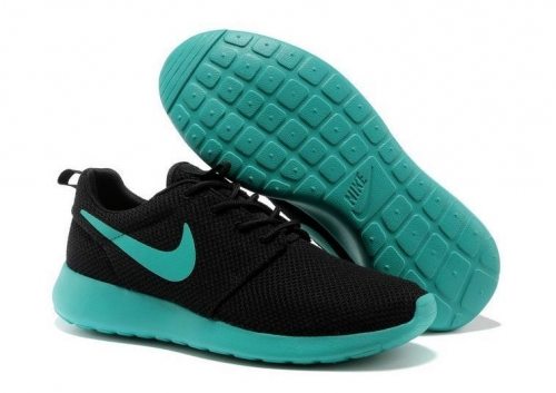 nike-roshe-run-blackturquoise