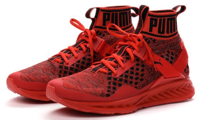 puma-ignite-evoknit-red