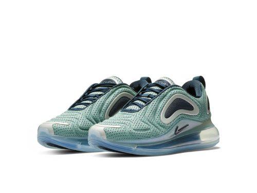 Nike Air Max 720 зеленые нейлон (35-44) (Копия)