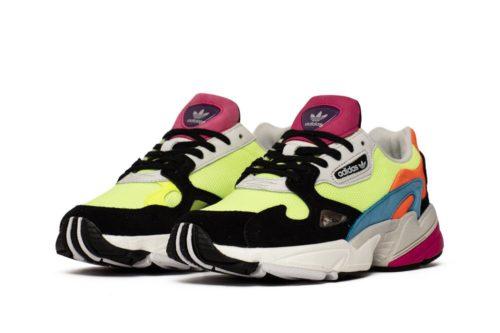 Adidas Falcon разноцветные