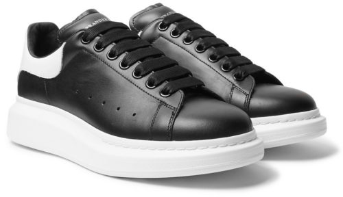 Alexander Mcqueen Leather (Black/White