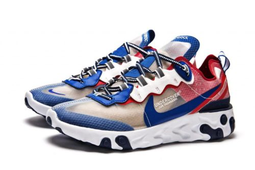 Nike React Element 87 blue/red