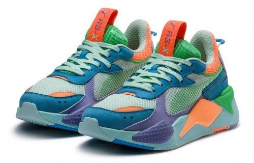 Puma RS-X (Blue-Orange-Green-violet)