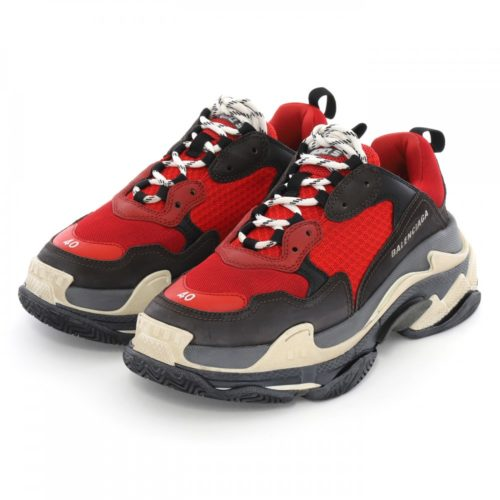 Balenciaga Triple S red/black