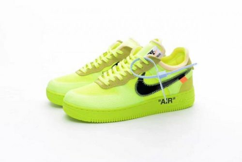 Nike Air Force 1 x Off White light green
