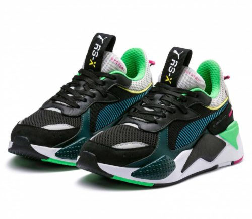 Puma RS-X (Black-Green-Blue)