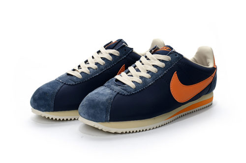 Nike Cortez (Blue/White/Orange)