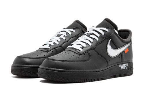 Nike Air Force 1 LV8 черные с серебристым