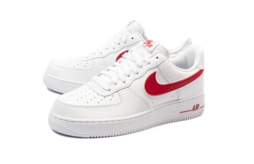 Nike Air Force 1 LV8 белые с красным