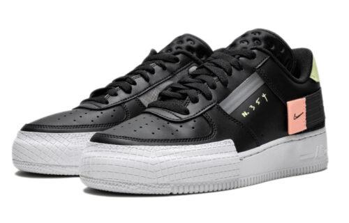 Nike Air Force 1 Type Low N. 354 черные