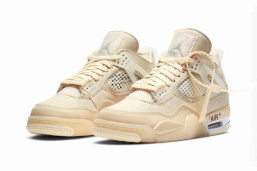 Nike Air Jordan 4 off White Sail