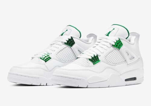 Nike Air Jordan 4  Green Metallic
