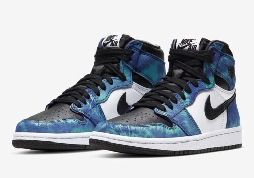 Nike Air Jordan 1 Retro High og Tie-Dye
