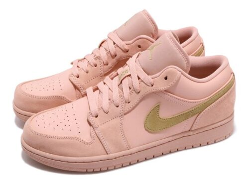 Nike Air Jordan 1 Low Coral Gold